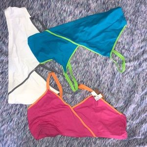 NWT Pack of 3 sports bras
